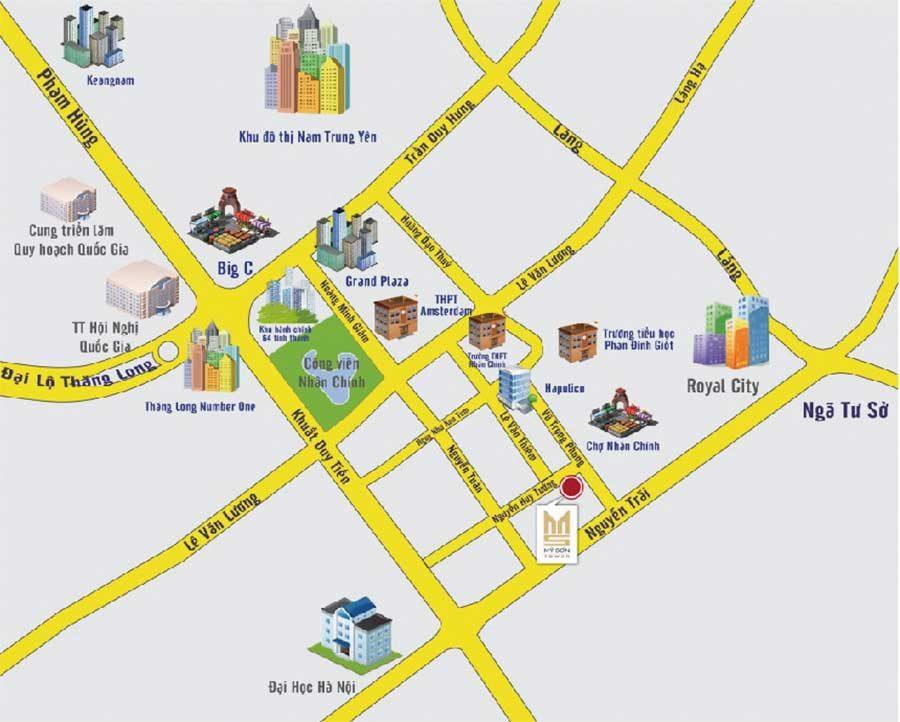 Giá rẻ Bán căn phòng của bản đồ của Hà Nội