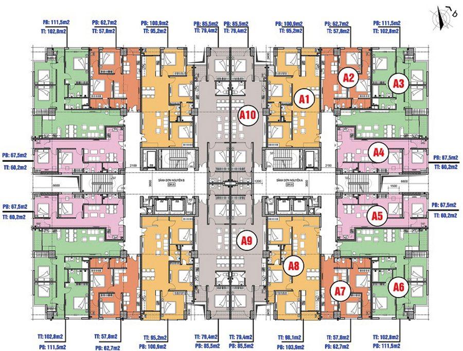 bản đồ sàn của căn phòng bạn muốn bán giá rẻ Hà Nội